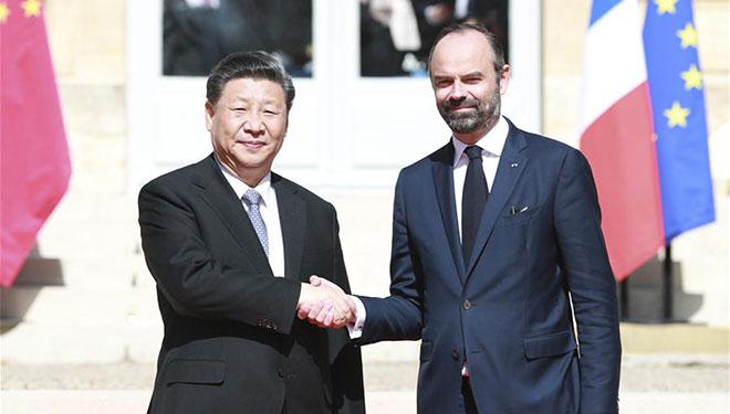 Xi trifft französischen Premierminister in Paris
