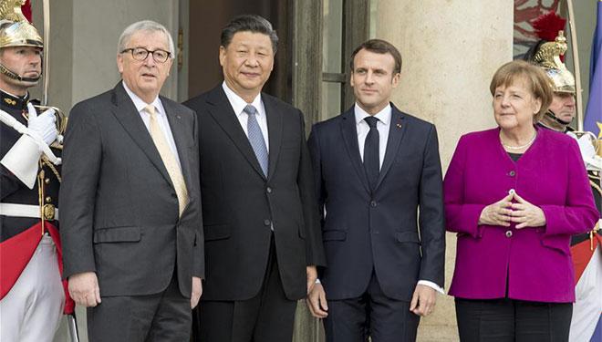 Xi trifft europäische Führungen zur Förderung der Beziehungen, globaler Governance