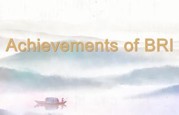 Achievements of BRI