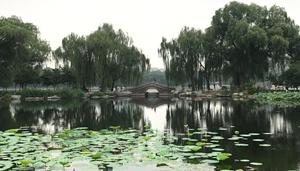 Landschaft in Parks in Beijing