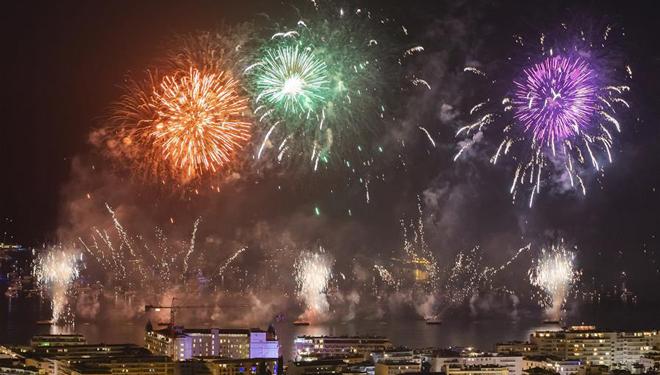 Festival für pyrotechnische Kunst in Cannes 2019 findet statt