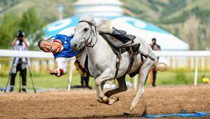 Pferdesportveranstaltung in Hohhot von Innerer Mongolei