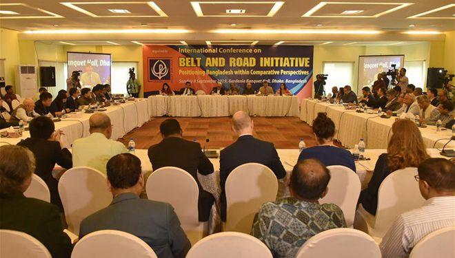 """Internationale Konferenz über """"Gürtel und Straße""""-Initiative in Bangladesch abgehalten"""