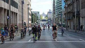 Jährlich autofreier Tag in Brüssel von Belgien veranstaltet