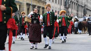 Oktoberfest-Parade in München