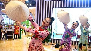 Künstler aus verschiedenen Ländern treten bei 16. China-ASEAN Expo in Nanning auf