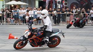 2. Glorious Plaza Motorcycle Cultural Festival endet in Xi'an