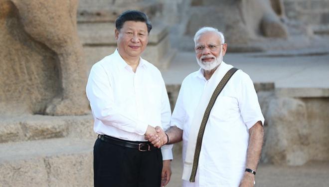 Xi und Modi treffen sich, um das gegenseitige Lernen zwischen China und Indien für gemeinsamen Wohlstand zu fördern