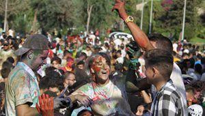 Farbenfest in nordlibanesischer Stadt Tripolis veranstaltet