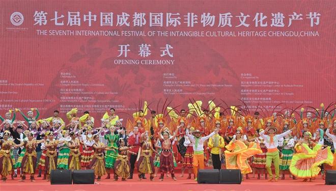7. Internationales Festival des immateriellen Kulturerbes in Chengdu wird 1100 Projekte des immateriellen Kulturerbes der Welt präsentieren