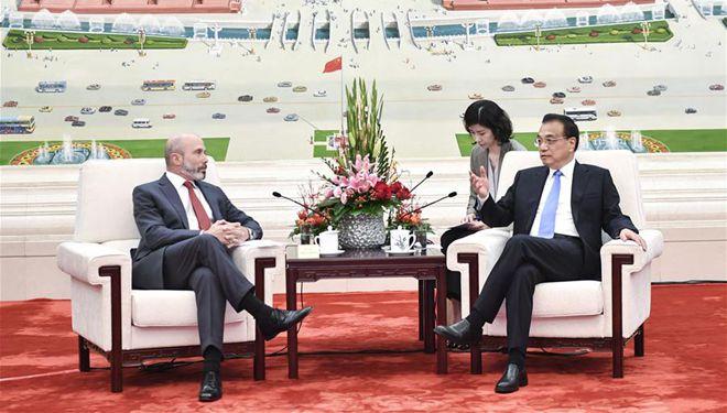 Chinesischer Ministerpräsident trifft US-Wirtschaftsdelegation