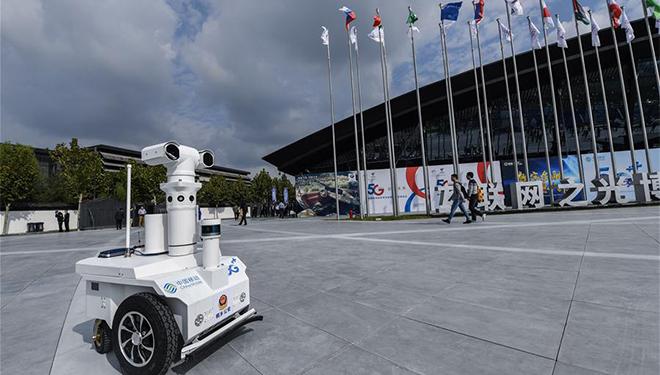 Light of Internet Expo in Wuzhen eröffnet