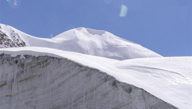 Korchung Kangri-Gletscher in Tibet