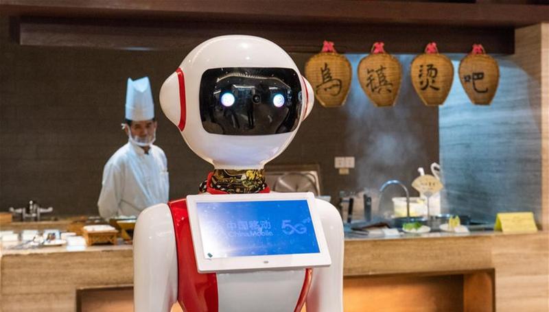 5G-Technologie auf 6. Welt-Internet-Konferenz in Wuzhen demonstriert