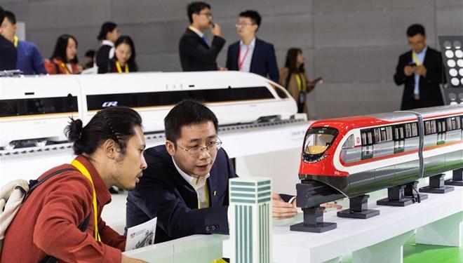 China International Rail Transit und Equipment Manufacturing Industry Expo in Changsha eröffnet