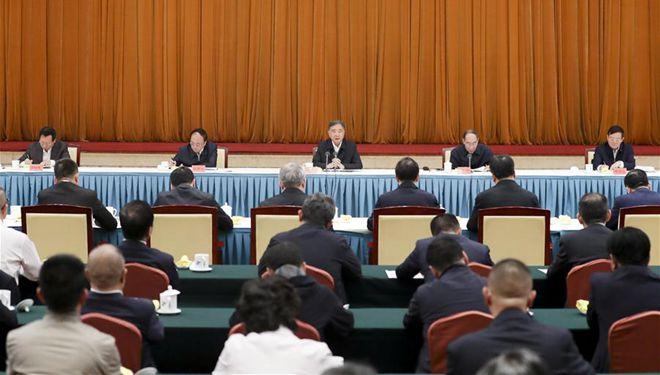 """Wang Yang hält Rede anlässlich des 25. Jahrestages des Starts des """"Guangcai-Programms"""""""