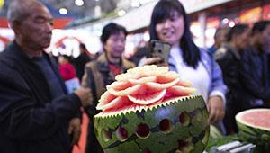Vierte Shanxi (Yuncheng) Internationale Obsthandelsausstellung fand in Yuncheng von Shanxi statt