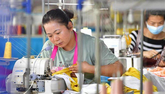 Mikrofabrik zur Armutsbekämpfung im Kreis Rong'an von Guangxi