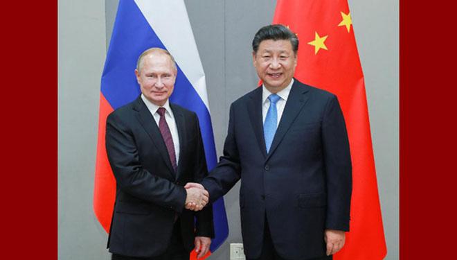 Xi Jinping trifft Putin in Brasilia