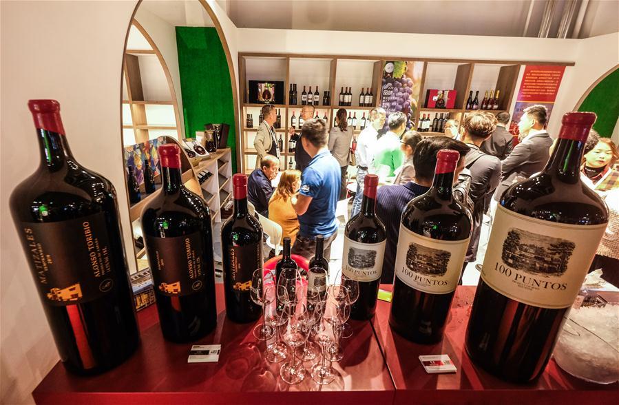 Zweite Import Expo der Überseechinesen und die Qingtian Import Weinmesse abgehalten