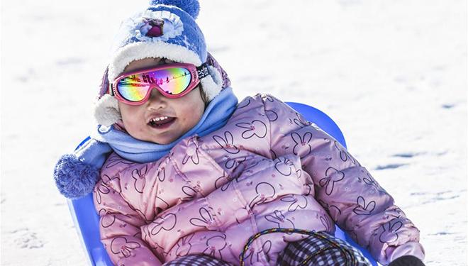 Ürümqi verbindet winterliche Unterhaltungsangebote mit lokalen ethnischen Traditionen