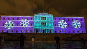 Weihnachtszeit beginnt in Athen mit Zeremonie der Baumbeleuchtung