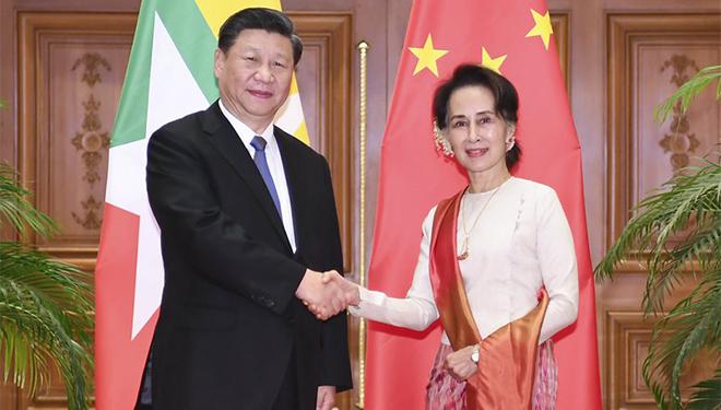 Xi führt formelle Gespräche mit myanmarischer Staatsrätin