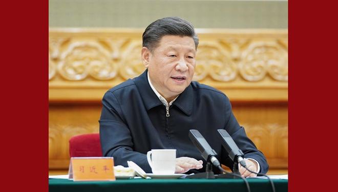 Xi betont unermüdliche Anstrengungen bei der Kontrolle von COVID-19 und der Koordinierung der wirtschaftlichen und sozialen Entwicklung