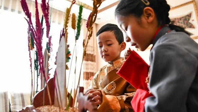 China-Fokus: Ein anderes tibetisches Neujahr inmitten der Epidemie