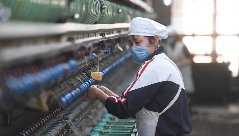 Unternehmen in der Stadt Huzhou nehmen Produktion ordnungsgemäß wieder auf