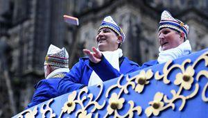 Rosenmontag-Karnevalsparade in Köln