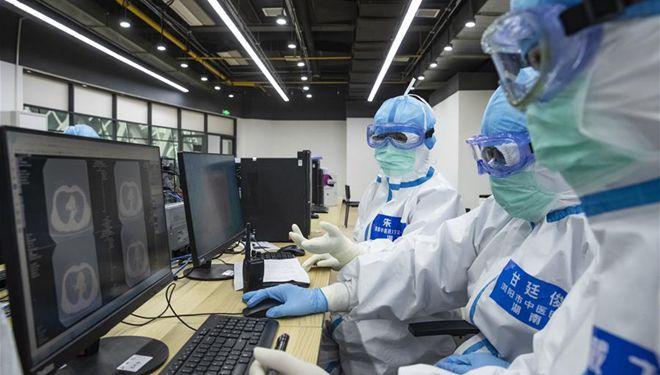 In Bildern: Erstes durch TCM gekennzeichnetes provisorisches Krankenhaus in Wuhan