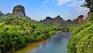 Wuyi-Gebirge wieder für die Öffentlichkeit geöffnet