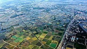 Frühlingslandschaft in Chinas Guangxi