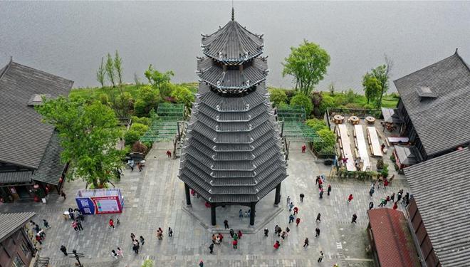 Gemeinde Danzhai-Wanda in Guizhou fördert Tourismuskonsum