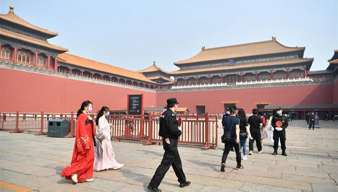 Palastmuseum in Beijing ab 1. Mai teilweise wiedereröffnet