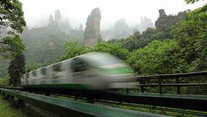 Landschaft des Aussichtspunkts Wulingyuan in Zhangjiajie