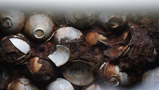 In Bildern: Ausgrabungsstätte des Schiffswracks von Nanhai Nr. 1 in Yangjiang