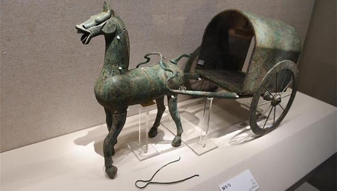 Kulturelle Relikte im Nanjing-Museum ausgestellt