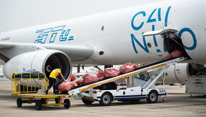 Regelmäßige Frachtflugroute über E-Commerce-Verbindungen zwischen Changsha und Moskau wieder aufgenommen