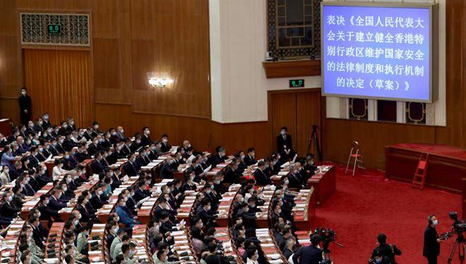 China beschließt, nationale Sicherheitsgesetzgebung für Hongkong zu erlassen