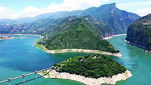 Drei Schluchten am Jangtse: Ansicht der Qutang-Schlucht in Chongqing