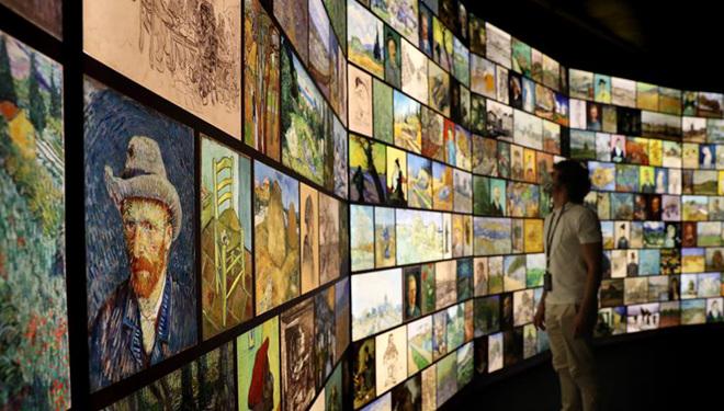"""Vorschau der Ausstellung """"Meet Vincent van Gogh"""" in Lissabon abgehalten"""