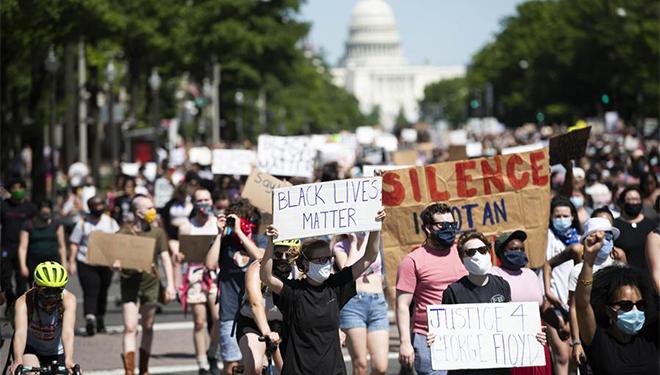 Nach Tod von George Floyd: Demonstrationen und Unruhen bereiten sich in den USA aus