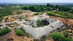 Tongwan-Stadt: Die weltweit einzige Ruine der alten Hunnen in Luftbildern