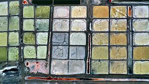 Größter Salzsee im Kreis Dingbian von Shaanxi