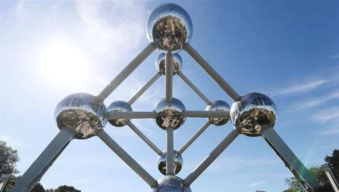 Atomium in Brüssel wieder für Öffentlichkeit geöffnet