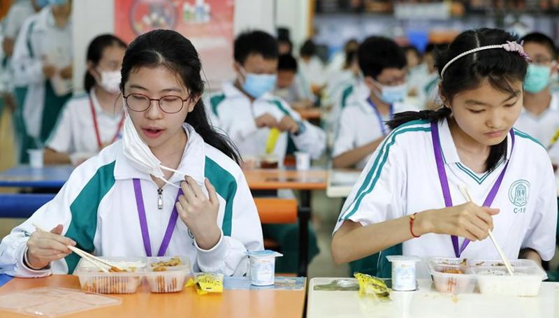 Schüler in Beijing kehren am Montag zur Schule zurück