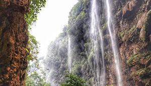 Landschaft der Malinghe-Schlucht in Chinas Guizhou
