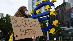 Nach Tod von George Floyd: Protest findet in Frankfurt statt